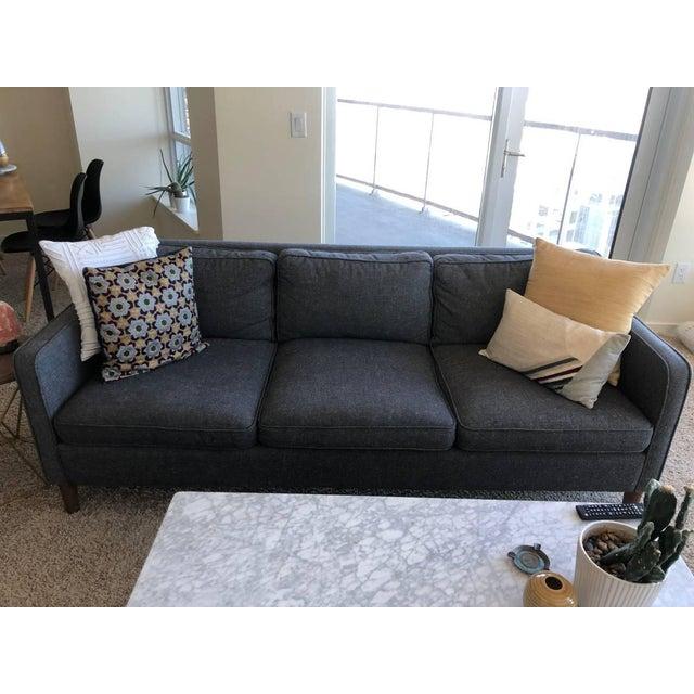 2010s West Elm Hamilton Sofa For Sale - Image 5 of 8