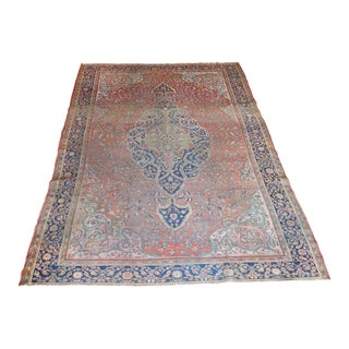 Antique Persian Sarouk Farahan - 8′6″ × 10′7″