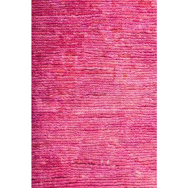"""Over-Dyed Hand Knotted Runner - 2'10"""" X 9'6"""" - Image 3 of 3"""