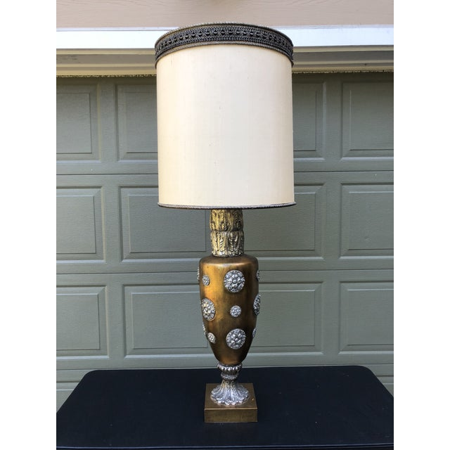 James Mont Style Hollywood Regency Italianate Table Lamp For Sale - Image 13 of 13