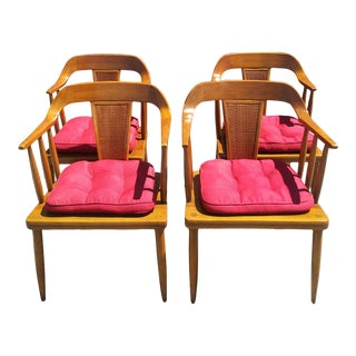 1950s Mid-Century Modern Tomlinson Dining Chairs - Set of Four For Sale