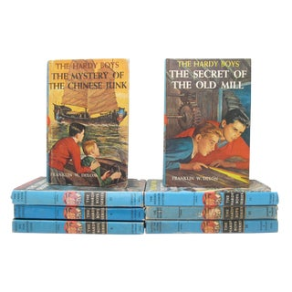 Hardy Boys Book Collection - Set of 8 For Sale