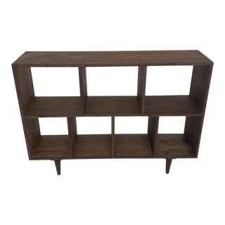 Petite Luna Bookcase in Walnut For Sale
