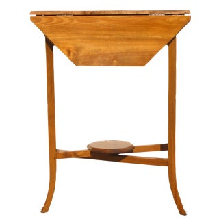English Narrow Drop Leaf Table For Sale