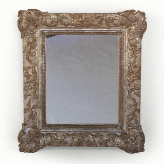 Small Scale Carved Silver Gilt Mirror Frame; French, Circa 1870. Preview