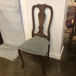 1990s Vintage Italian Queen Anne Style Side Chair Preview