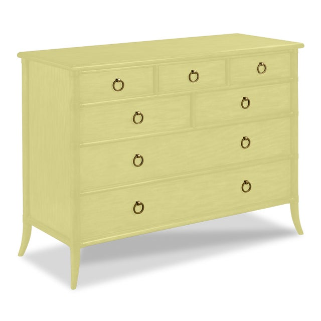 Traditional Paxton Chest, Pale Avacado For Sale - Image 3 of 3