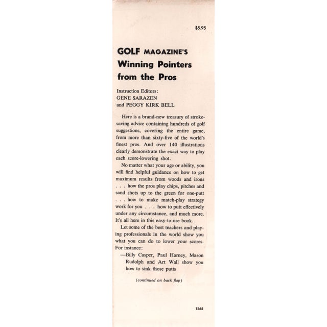 Golf Magazine's Winning Pointers from the Pros For Sale In Atlanta - Image 6 of 6