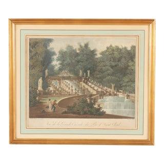 Parc de Saint Cloud Engraving For Sale
