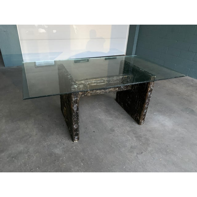 Resin Adrian Pearsall Brutalist Dining Table For Sale - Image 7 of 12