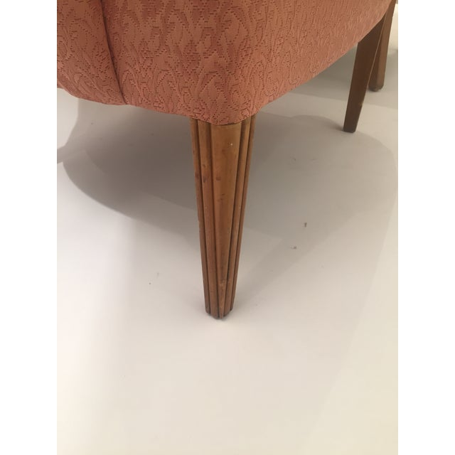 Italian Mid-Century Curved Arm Chairs - A Pair - Image 7 of 11