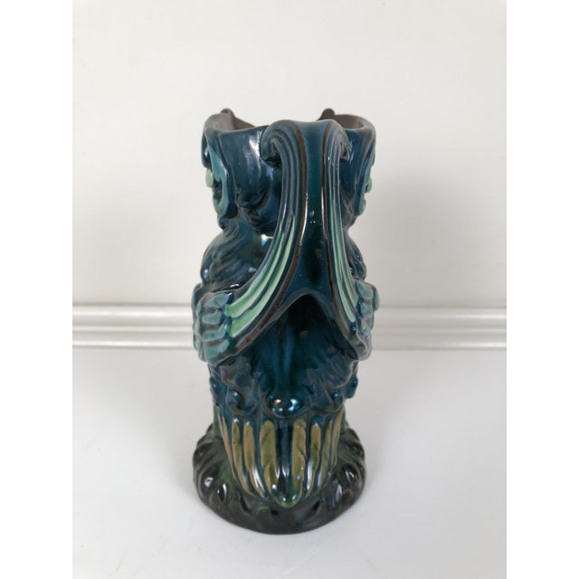 Longpark English Art Pottery Bird Pitcher For Sale - Image 10 of 13