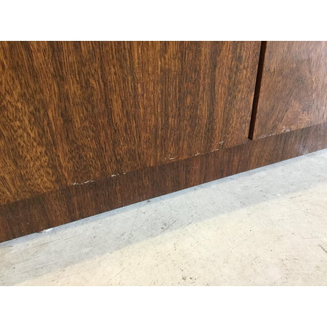 Willy Rizzo Style Wood Credenza For Sale - Image 9 of 12