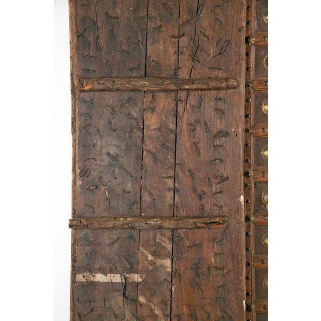 Antique African Doors - A Pair For Sale - Image 10 of 12