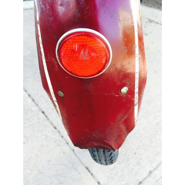 Burgundy, White 1950's Columbia Built Cruiser Bike - Image 10 of 10