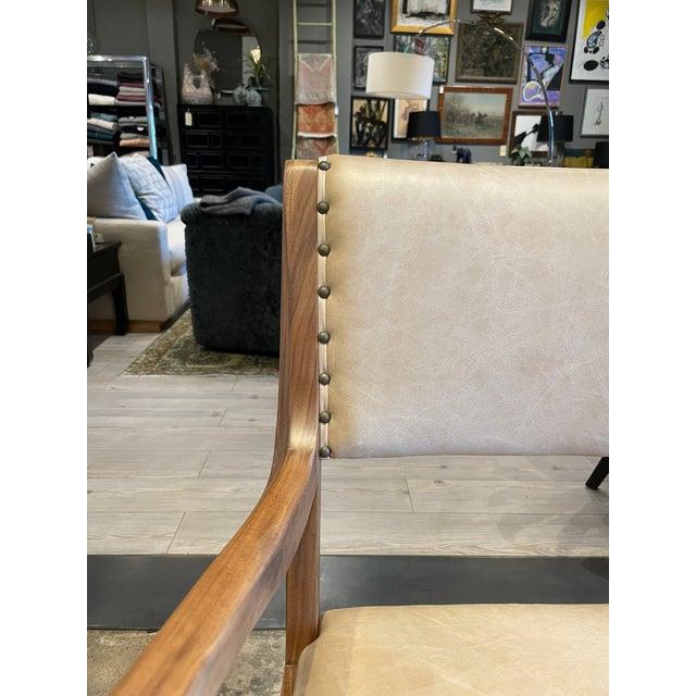 Set of 4 Van Koert Leather Chairs For Sale In Los Angeles - Image 6 of 11