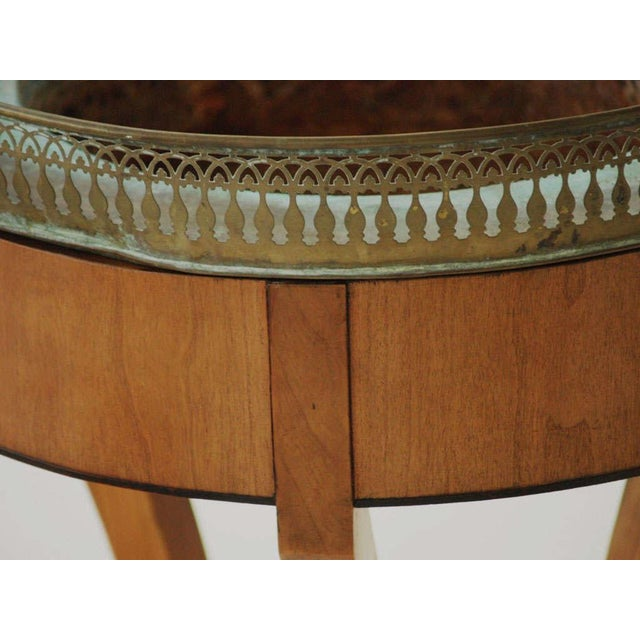 Empire Style Jardiniere with Pierced Gallery For Sale - Image 4 of 9