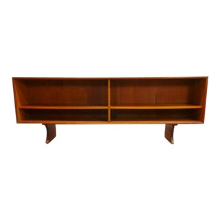 1960s Mid Century Danish Modern Bookcase For Sale