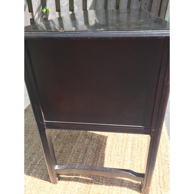 Dark Brown Vintage Bassett Desk - Image 6 of 9
