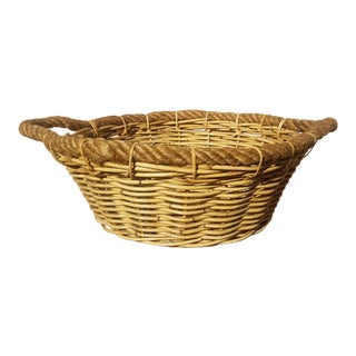 Large French Market Basket