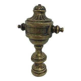 Brass Finial Ornamental Décor For Sale