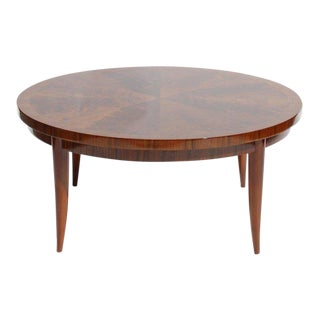 1940s Vintage Round Cocktail Table For Sale