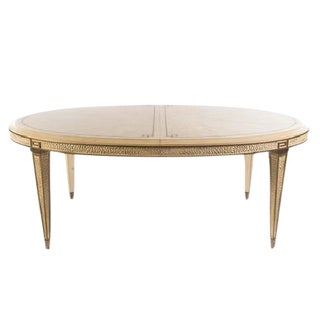 20th Century Italian Style Cream Dining Table For Sale