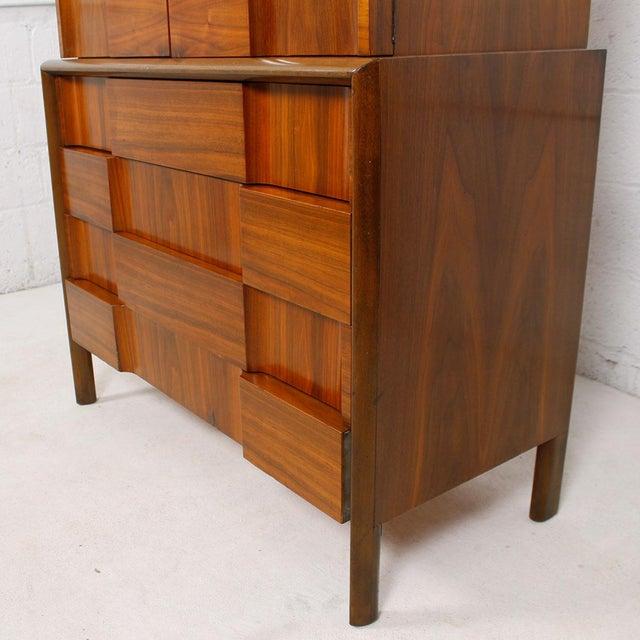 Swedish Modern Walnut Dresser by Edmund Spence - Image 5 of 10