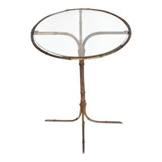 Italian Gold Leaf Martini Table