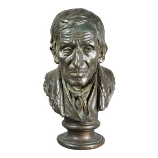 Bronze Bust of a Man by Salvatore Albano
