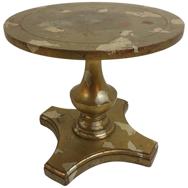 James Mont Round Side Table For Sale