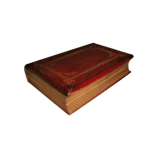"""""""Scott's Poetical Works"""" Illustrated Leather Bound - Image 1 of 8"""