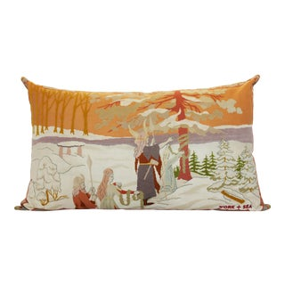 Extra Large Tapestry Floor Pillow For Sale