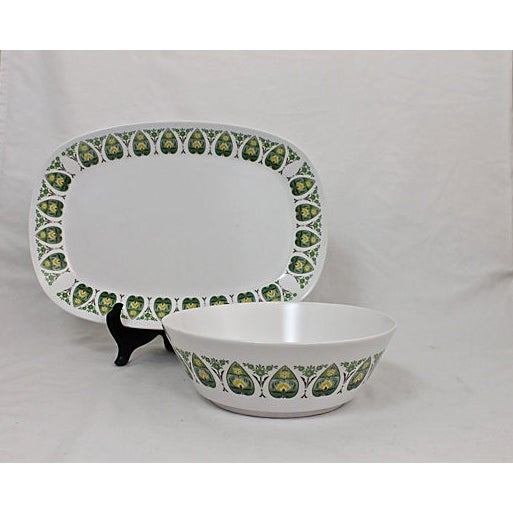 Noritake Serving Platter & Bowl - A Pair - Image 2 of 9