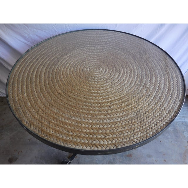 French Ralph Lauren Sheltering Sky Table For Sale - Image 3 of 5