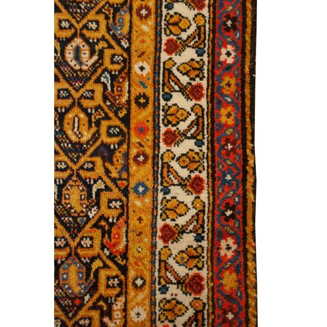 "Islamic Early 20th Century Persian Lori Runner - 39"" x 100"" For Sale - Image 3 of 5"