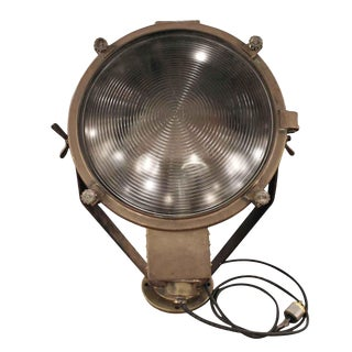 Original Bronze Floor Spotlight For Sale