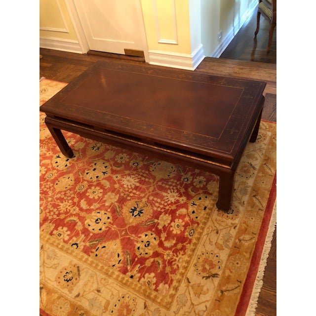 Wood Asian Style Coffee Table For Sale - Image 7 of 7