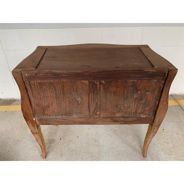 Neoclassical Fine Italian Piranesi Topographical Polychromed Marble Top Commode For Sale - Image 3 of 13