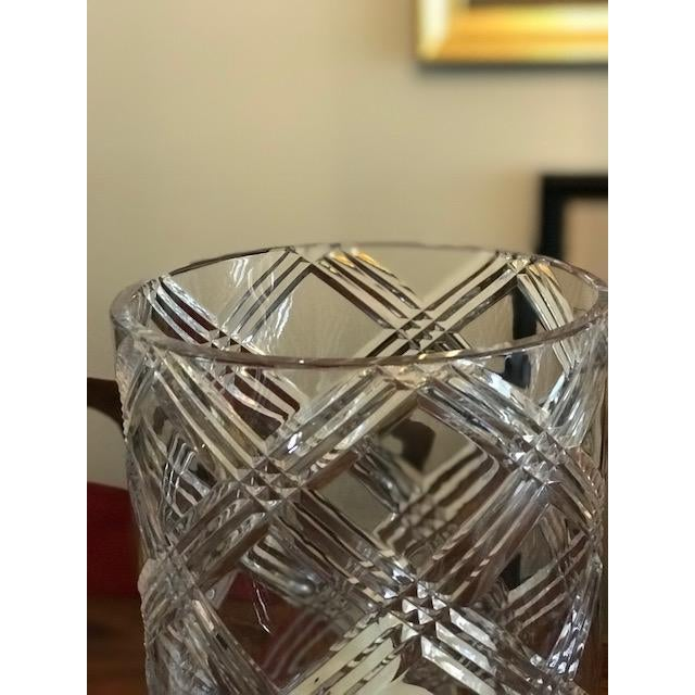 Crystal Hurricane Globes - a Pair For Sale - Image 4 of 11