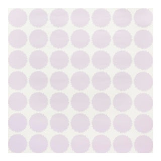 Schumacher Fuzz Wallpaper in Lavender For Sale