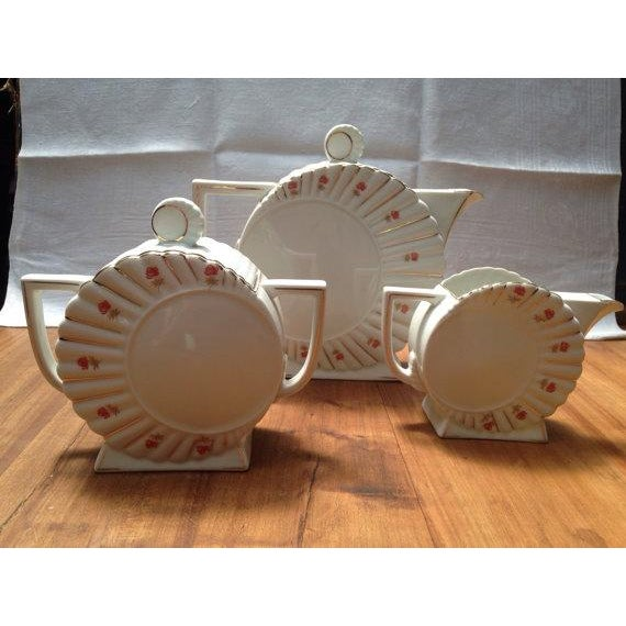 Deco Tea Set from Czechoslovakia - Image 3 of 6