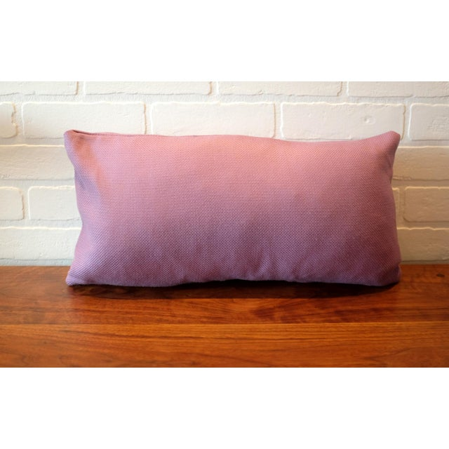 Lavender Tempotest Italian Woven Fabric Pillow Covers - Set of 3 For Sale - Image 5 of 6