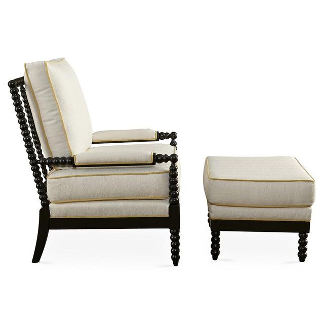 Taylor Burke Gregg Park Chair & Ottoman - Image 3 of 4