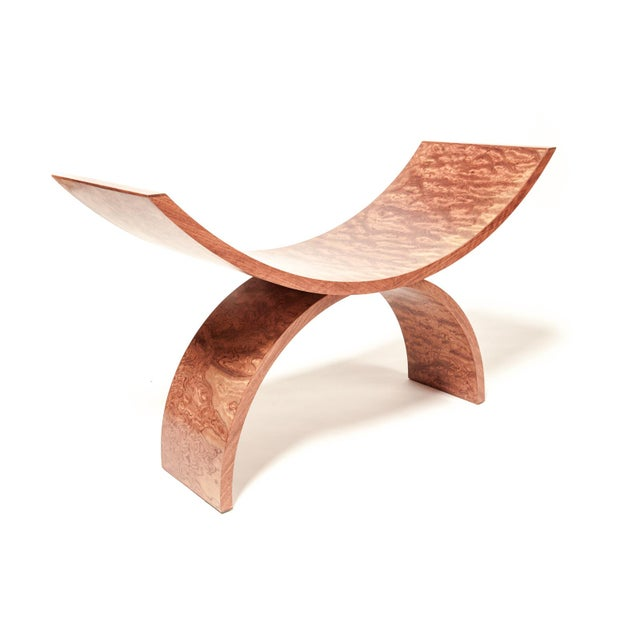 Wood Contemporary Studio Rossi Double Arch Chair For Sale - Image 7 of 7