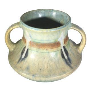 Roseville Blue Monticello Vase For Sale
