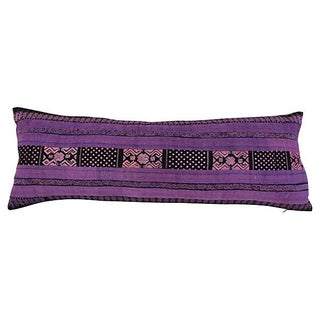 Silk Hill Tribe Lavender Pillow For Sale