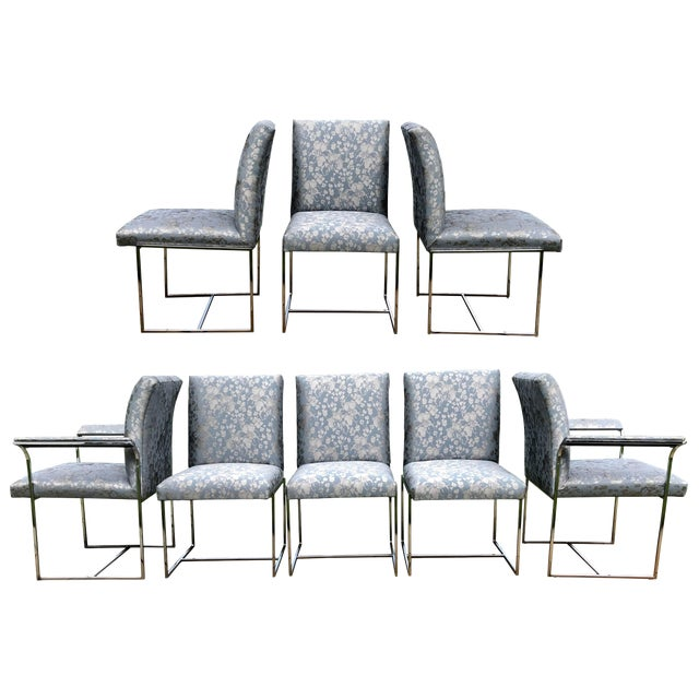 Milo Baughman Dining Chairs - Set of 8 For Sale