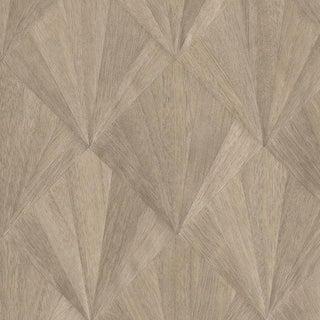 Sample, Ajiro Fanfare Wood Veneer: Teak - Wood Veneer Wallcovering For Sale