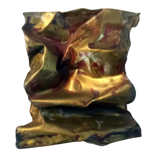 Silas Seandel Sculpture Convoluted Wall Piece For Sale